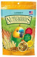 Lafeber Garden Veggie Nutri Berries Parrot Food 10 oz Nutritious Carrots Peas