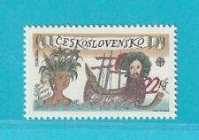 Tschechoslowakei CEPT aus 1992 MiNr. 3114 Amerika