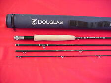 Douglas Outdoors 9 FT Graphite DHF Fly Rod 4 Piece #6 Line GREAT NEW