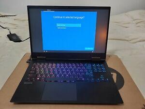 """HP OMEN 15.6"""" Gaming Laptop; (512GB, i7-10750H, Geforce 2060, 16GB, 300Hz screen"""