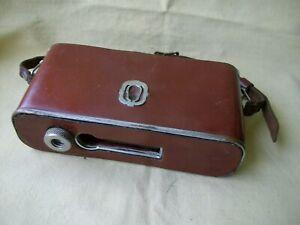 Leather semi- case for camera DRUG