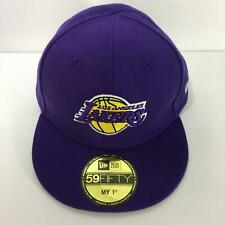 NBA Los Angeles Lakers New Era 59Fifty My 1st Fitted Size 6 Cap Hat NWOT