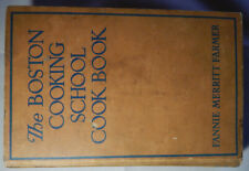 The Boston Cooking-School Cook Book, Seventh Edition by Fannie Farmer (1943)