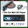 1 Din Autoradio DVD CD Mp3 Lettore FM Stereo Audio In-dash USB/AUX/SD Bluetooth