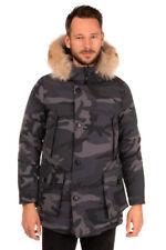 RRP €990 WOOLRICH Down Parka Jacket Size S Teflon Coyot Fur Heavy Weight