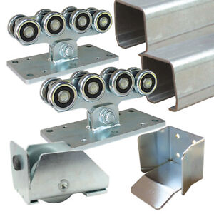 HEAVY CANTILEVER GATE KIT - Up To 12m / 1000kgs Sliding Track Hardware System