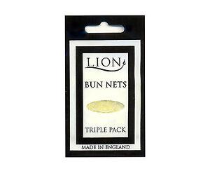 BUN NETS x 3, A Triple Pack, Lion Haircare, Best Quality, ALL 7 COLOURS.