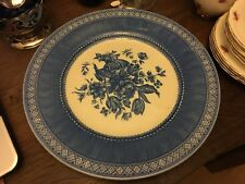 """Queens ( AKA Churchill ) Out of the Blue 10 3/4"""" Dinner plate."""