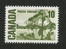 Canada 1971 Centennial 10c Hibrite, Spotty White Gum #462iii VF MNH