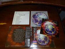 Firewind / Burning Earth JAPAN+2 w/Sticker Dream Evil Mystic Prophecy *K