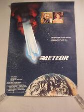 METEOR - Poster Plakat Filmplakat - gerollt - SEAN CONNERY Karl Malden