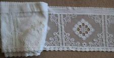 Lace Curtain Antique Linens