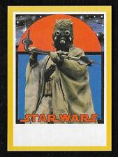 2017 Topps Star Wars 1978 Sugar Free Wrappers TUSKEN RAIDER Gold #21/25