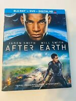 After Earth w/ Slipcover (Bluray/DVD, 2013) [BUY 2 GET 1]