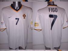 Portugal  Adult XL Luis Figo Madrid Nike Shirt Jersey Football Soccer 2000 Away