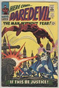 Daredevil #14 March 1966 VG Romita Art