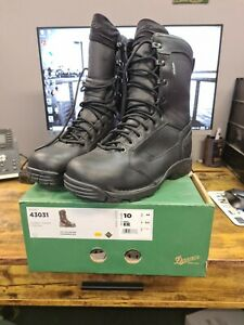 "Danner Striker Torrent Side zip 8"" full leather size: 10EE US"