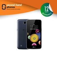 LG K4 (K120E) 2016 4G Android White/Black Unlocked Smartphone Brand New In Box