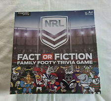 NRL Fact or Fiction Family Footy Trivia Game