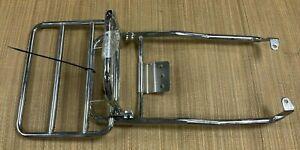 Piaggio Vespa PK50 125 XL Klappgepäckträger Chrom Neu Rarität