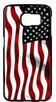 For Samsung Note Models USA American Flag Pattern wavy Design Back Case Cover