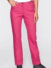 BPC @ Kaleidoscope Size 8 Fuchsia Hot Pink Stretch Jeans TROUSERS Straight Leg