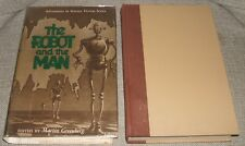 1953 First in Dust Jacket of The Robot and the Man  Gnome Press Short Stories