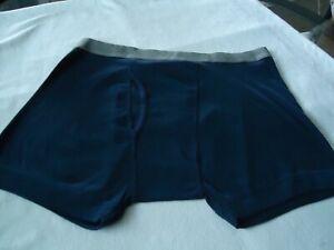 MARKDOWN !  Men's New ALFANI Boxer Underwear Sz XL Dark Blue  Combed Cotton