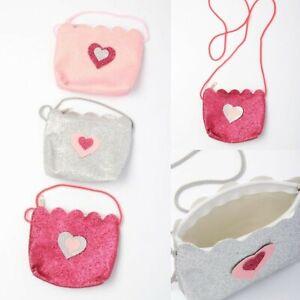 Girls Small Glitter Bag with Handle Handbag Small Gift Purse Cross Body