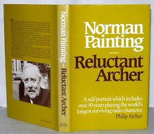 """Reluctant Archer- Norman Painting, """"Archers Interest"""", Signed by Author, HB/DJ."""