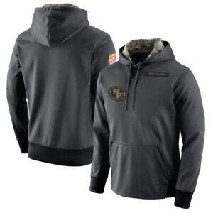 San Francisco 49ers Football Hoodie Long Sleeve Men's Sweatshirt Pullover Gift