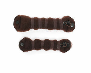 2 Pcs Sponge Hair Styling  tool & accesoriess Donut Bun Maker Magic Former Ring