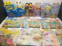 Lot 26 McDonald's Super Mario Bros Happy Meal boxes Batman looney Tunes & MORE