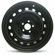 16x6.5 Inch For 1995-2005 Volkswagen Golf Steel Wheel Rim Black 5 Lug