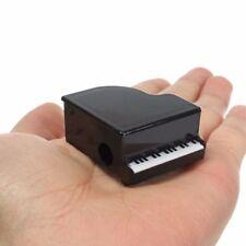 Plastic Piano Shape Black And White Kids Pencil Sharpeners School Supplies