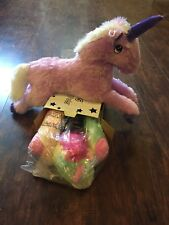 Rainbow dream lite & Purple unicorn lot New in box pillow pets new in box