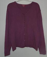 Gilet / cardigan violet marque «Bernard Dolfin» taille 48