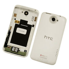 White Battery Back Cover Fits HTC One X with Volume Power Key Genuine Part