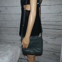 Fossil Green Leather Bag