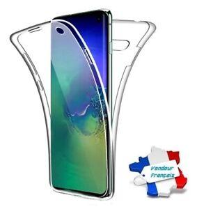 Coque Silicone Protection Intégrale 360° ~ Samsung Galaxy S10e / S10 Lite