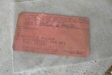Vintage 1944 Pennsylvania Motor Vehicle Operator's License