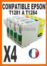 LOT 4 Cartouches non-OEM pour EPSON Stylus Office B42T1281/1282/1283/1284