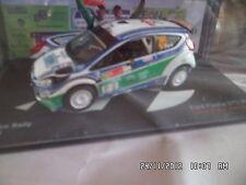 FORD FIESTA GT3 RS RALLY MEXICO 2010 IXO 1/43   B12