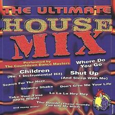 Ultimate House Mix-Countdown Dance Master NEW SEALED CD