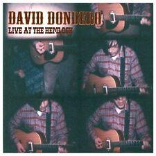 David Dondero, Live At The Hemlock, ADVANCE PROMO CD