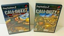 Call Of Duty 2 And 3 Games Playstation Complete With Manuals