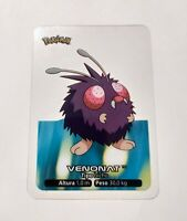 048 Venonat POKEMON Lamincards Collection 2005 EDIBAS Español