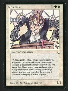 ***1x Preacher*** MTG The Dark -Kid Icarus-