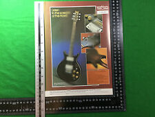 Publicité pour la Washburn Hawk Guitare électrique à partir de 1979