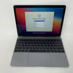 MacBook 12 Space Gray 2017 1.4GHz i7 16GB 512GB SSD - Good Condition - Blue Spot